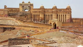 View of Amber Fort Royalty Free Stock Images