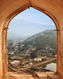 View from Amber fort, Jaipur, India Stock Photography