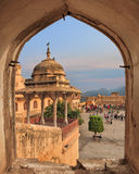 View from Amber fort, Jaipur, India Royalty Free Stock Photography