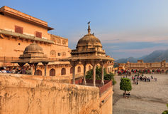 View of Amber fort, Jaipur, India Royalty Free Stock Photography