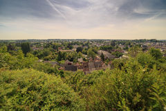 A view of Amboise in France Stock Photography