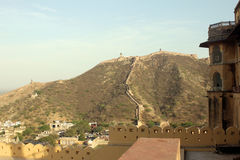 A view from Amer Fort Stock Photo