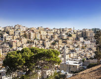 View of Amman, capital of Jordan Royalty Free Stock Image