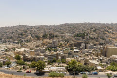 View of Amman from the Citadel Stock Image