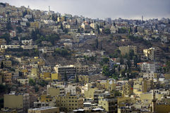 View of the Amman. Jordan. Royalty Free Stock Image