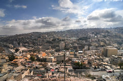 View of Amman, Jordan from the Citadel Stock Image