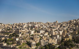 View of Amman's skyline, Jordan, Middle East Stock Photo