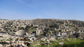 View of Amman's skyline, Jordan, Middle East Stock Images