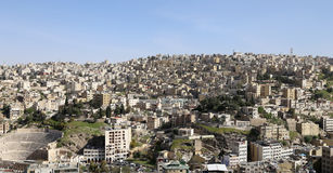 View of Amman's skyline, Jordan, Middle East Stock Image