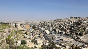 View of Amman's skyline, Jordan, Middle East Stock Photography