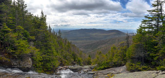 View from Ammonoosuc ravine trail at Mount Washington. L, Coos County, New Hampshire Stock Photos