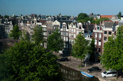 View on Amsterdam Royalty Free Stock Image