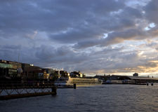 View Amsterdam Royalty Free Stock Photography