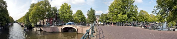 View on Amsterdam innercity in the Netherlands Stock Photos