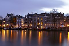 View from Amsterdam Netherlands Royalty Free Stock Photography