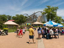 View of an amusement park Stock Photography