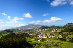 View from Anaga Mountains Royalty Free Stock Image
