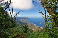 View from the Anaga Mountains. Tenerife Stock Photo