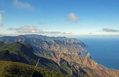 View from the Anaga Mountains, Tenerife Stock Image