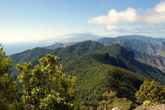 View from the Anaga Mountains Royalty Free Stock Photos