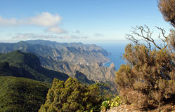 View from the Anaga Mountains Stock Images