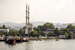 A view of Anatolian side of Istanbul Royalty Free Stock Photos