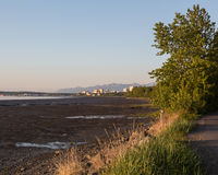 View of Anchorage Stock Photo