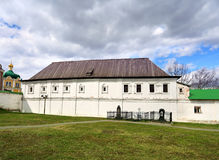 View of the ancient buildings  on the Russian Kremlin Royalty Free Stock Photography