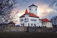 The Castle Budatin - Slovakia stock images