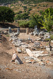 View of ancient city Ephesus, Turkey Stock Image