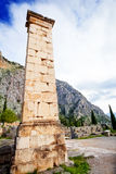 The view on ancient column Royalty Free Stock Photography