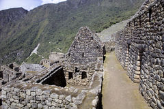 View of the ancient Inca City of Machu Picchu, Peru Stock Photo
