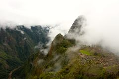 View of ancient incas town of Machu Picchu Stock Image