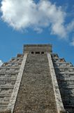 View of Ancient Mayan Pyramid Royalty Free Stock Image