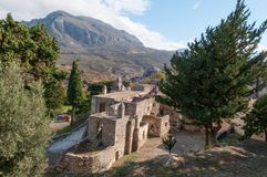 View of Ancient Monastery Stock Photography