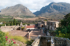 View of Ancient Monastery Royalty Free Stock Image