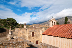 View of Ancient Monastery Stock Photos