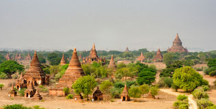 View of ancient temples