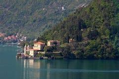 View on a ancient villa, lake como Stock Photography
