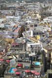 View of andalusian traditional city in Spain. Seville Stock Photography