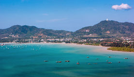 View of the Andaman Sea, Phuket Stock Images