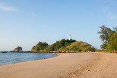 View of andaman sea in Thailand. View of andaman sea in Thailand koh lanta island Stock Photos