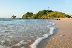 View of andaman sea in Thailand. View of andaman sea in Thailand koh lanta island Royalty Free Stock Photography
