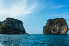 View of andaman sea, thailand Royalty Free Stock Photos