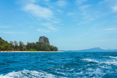 View of andaman sea, thailand Royalty Free Stock Images