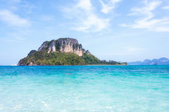 View of andaman sea in Thailand Royalty Free Stock Photos