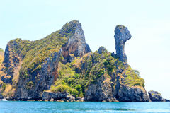 View of andaman sea in Thailand Royalty Free Stock Photography