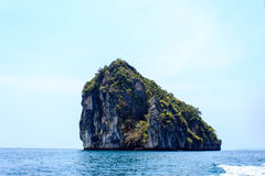View of andaman sea in Thailand Royalty Free Stock Photo
