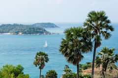 View of the Andaman Sea from the viewing point, Phuket , South o Stock Photography