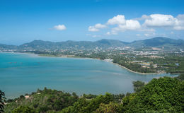 View of the Andaman Sea from the viewing point, Phuket Stock Photos